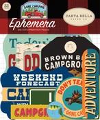 Gone Camping Ephemera - Carta Bella