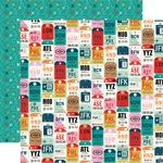 Hello World Paper - Pack Your Bags - Carta Bella - PRE ORDER
