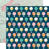 Travel the World Paper - Pack Your Bags - Carta Bella - PRE ORDER