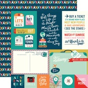 Journaling Cards Paper - Pack Your Bags - Carta Bella