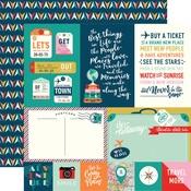 Journaling Cards Paper - Pack Your Bags - Carta Bella - PRE ORDER