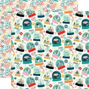 Happy Place Paper - Pack Your Bags - Carta Bella - PRE ORDER