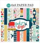 Pack Your Bags 6 x 6 Paper Pad - Carta Bella - PRE ORDER