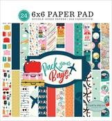 Pack Your Bags 6 x 6 Paper Pad - Carta Bella