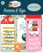 Pack Your Bags Frames & Tags - Carta Bella