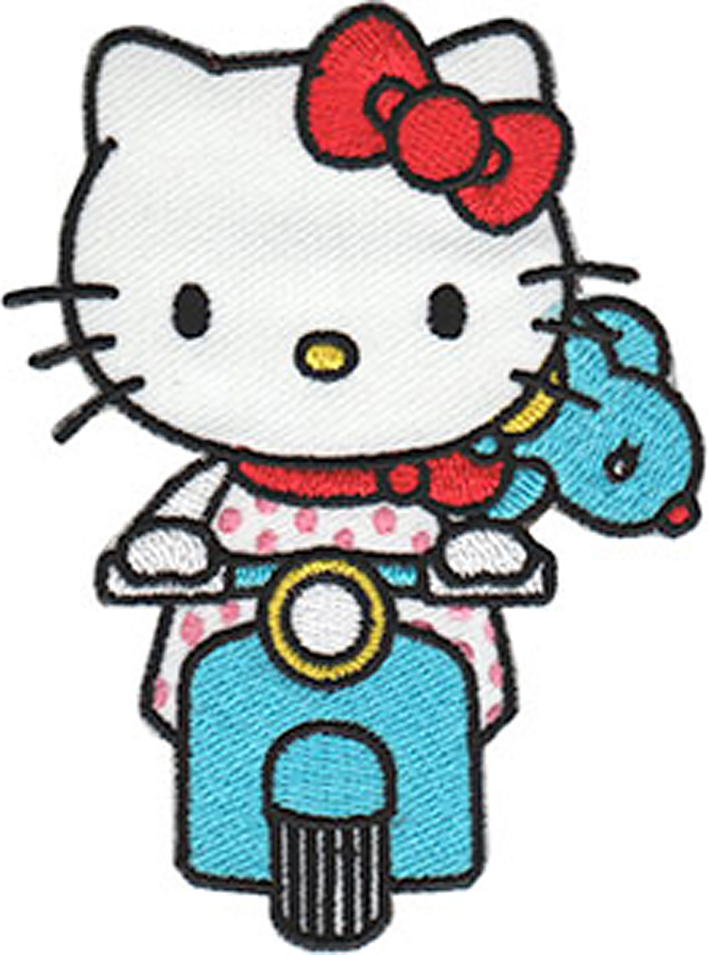 Hello Kitty Scooter - C&D Visionary Hello Kitty Patch
