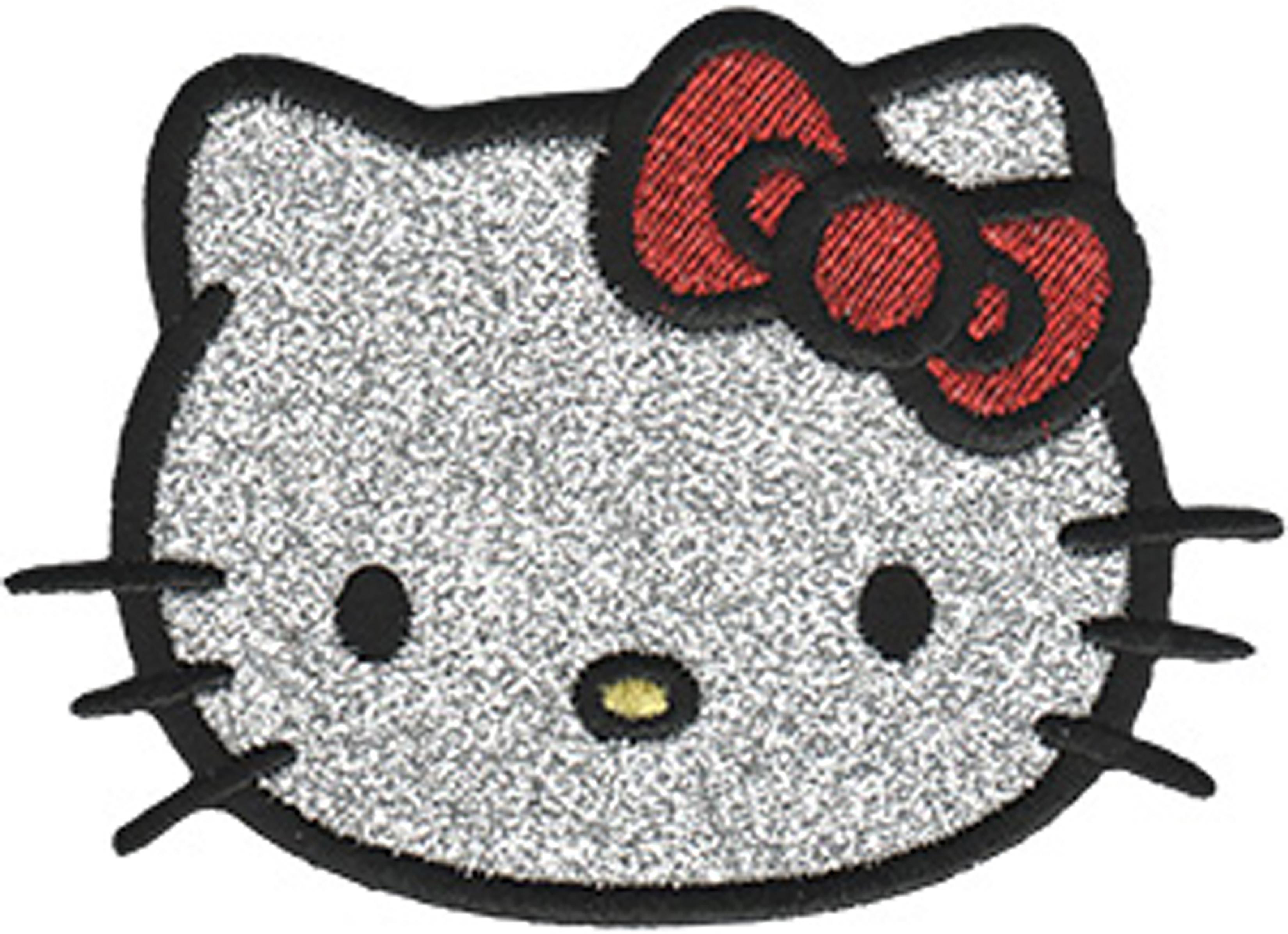 Hello Kitty Headshot W/Glitter - C&D Visionary Hello Kitty Patch
