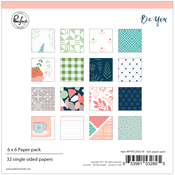 "Be You, 16 Designs/2 Each - Pinkfresh Studio Single-Sided Paper Pack 6""X6"" 32/Pkg"