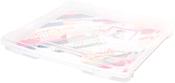 """8.5""""X11"""" Case - We R Craft & Photo Translucent Plastic Storage"""