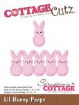 "Lil Bunny Peeps .7"" To 3.4"" - CottageCutz Die"