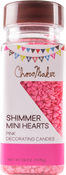 Mini Hearts - ChocoMaker(R) Shimmer Confetti Jar 2.6oz