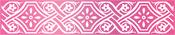 """Vintage Border 3.9""""X.7"""" - Couture Creations C'est La Vie Hotfoil Stamp"""