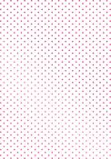 """Swiss Dots Background 3.3""""X4.8"""" - Couture Creations C'est La Vie Hotfoil Stamp"""