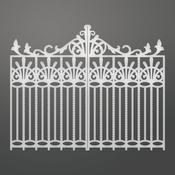 """Nouveau Gate, 2.7""""X7"""" - Couture Creations C'est La Vie Die"""
