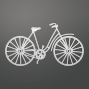 """French Bicycle, 3.5""""X1.9"""" - Couture Creations C'est La Vie Die"""