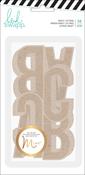 Minc - Kraft - Heidi Swapp Hawthorne Jumbo Alphabet
