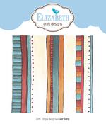 Stripes Background - Elizabeth Craft Clear Stamps