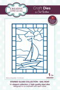 Stained Glass-Sail Boat - Creative Expressions Craft Dies By Sue Wilson