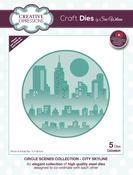 Circle Scenes-City Skyline - Creative Expressions Craft Dies By Sue Wilson