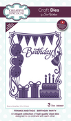 Frames & Tags-Birthday Party - Creative Expressions Craft Dies By Sue Wilson