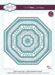 Noble-Classic Adorned Octagon - Creative Expressions Craft Dies By Sue Wilson