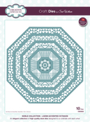 Noble-Lavish Accented Octagon - Creative Expressions Craft Dies By Sue Wilson