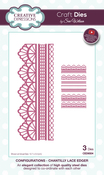Configurations-Chantilly Lace Edger - Creative Expressions Craft Dies By Sue Wilson