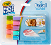 Pastels - Crayola Color Wonder Mini Markers 10/Pkg These markers provide a great color variety that works on all Color Wonder surfaces. Will not color on skin, furniture or fabric! This package contains ten 4 inch long markers in assorted colors. Non- toxic. Conforms to ASTM D 4236. WARNING: Choking Hazard- small parts. Not for children under 3 years. Imported.