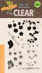 "Color Layering Nasturtium - Hero Arts Clear Stamps 4""X6"""