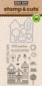 House - Hero Arts Stamp & Cut