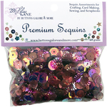 Wine - 28 Lilac Lane Premium Sequins 20g