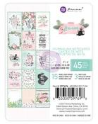 Havana 3 x 4 Journaling Cards - Prima