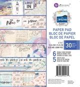 Santorini 6 x 6 Paper Pad - Prima
