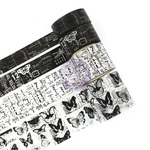 PTJ Vintage Black & White Decorative Tape - Prima