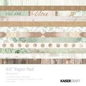 Memory Lane 6 x 6 Paper Pad - KaiserCraft