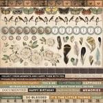 Anthology Cardstock Stickers - KaiserCraft