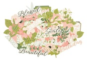 Full Bloom Collectables Cardstock Die-Cuts - KaiserCraft - PRE ORDER