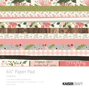Full Bloom 6 x 6 Paper Pad - KaiserCraft