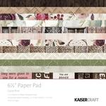 Paper Pad 6.5 x6.5 - Gypsy Rose - Kaisercraft