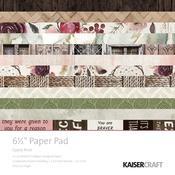 Paper Pad 6.5x6.5 - Gypsy Rose - Kaisercraft
