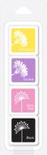 Swallowtail Layering - Hero Arts Dye Ink Cubes 4/Pkg