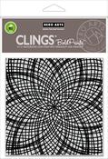 "Floral Mandala Bold Prints - Hero Arts Cling Stamps 6""X6"""
