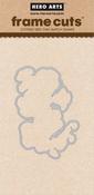 Flowering Nasturtium - Hero Arts Frame Cut Dies
