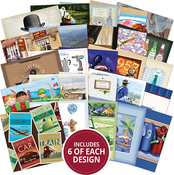 "Manly Moments, 25 Designs/6 Each - Hunkydory The Square Little Book Of 5""X5"" Paper Pad 150/Pkg"