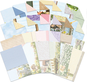 Hunkydory Spring Days/Country Life A4 Card Insert/Paper Pack