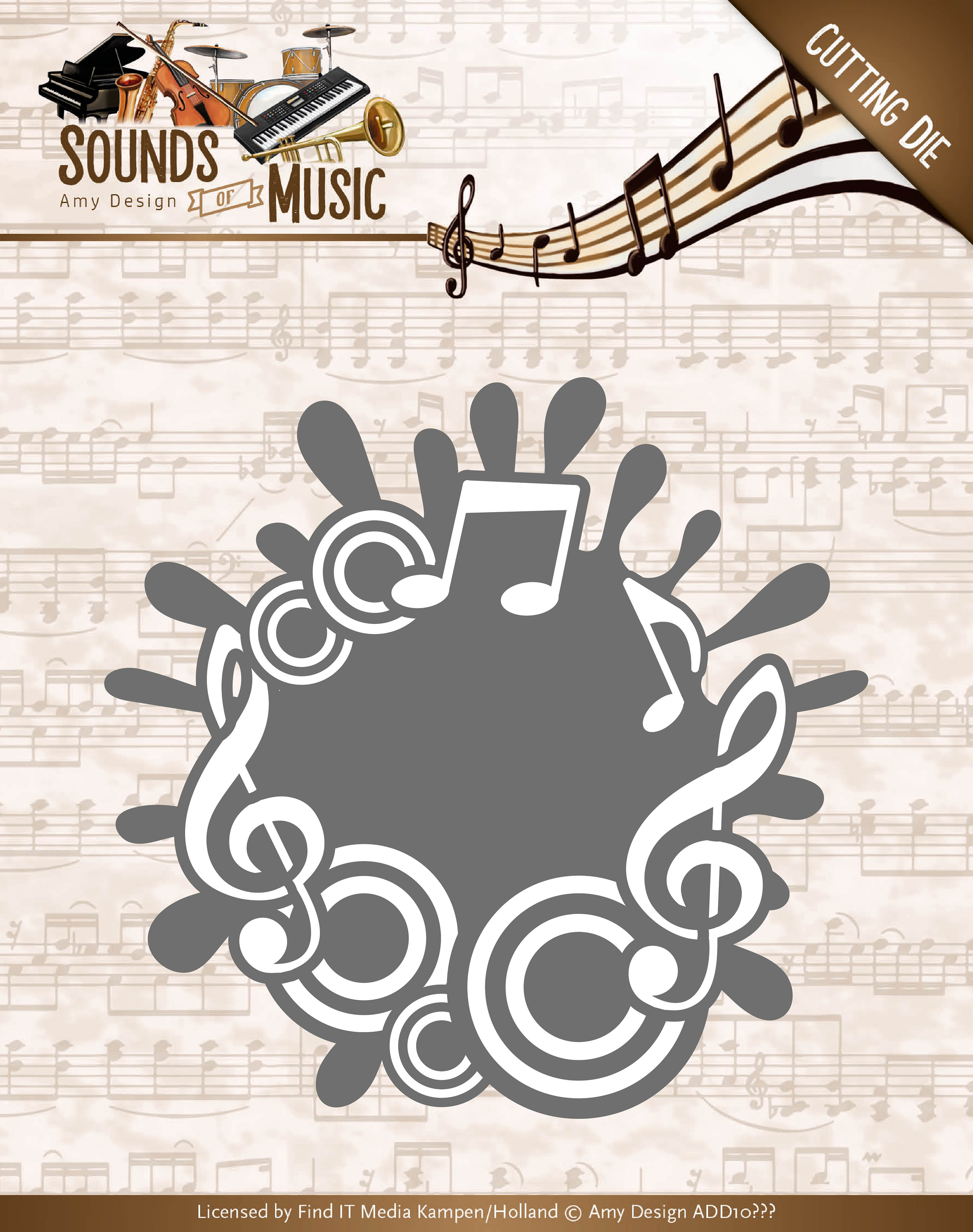Music Label - Find It Trading Amy Design Sounds Of Music Die