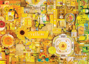 "Rainbow Project - Yellow - Jigsaw Puzzle 1000 Pieces 26.625""X19.25"""
