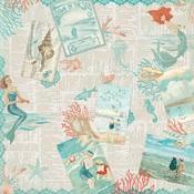 Sea-Maiden One Paper - Authentique