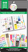 Teachers Rule Big, 648/Pkg - Happy Planner Sticker Value Pack