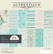 Sea-Maiden 6 x 6 Paper Pad - Authentique